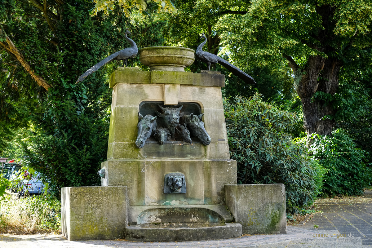 Tierbrunnen Darmstadt